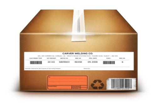 despatch labels