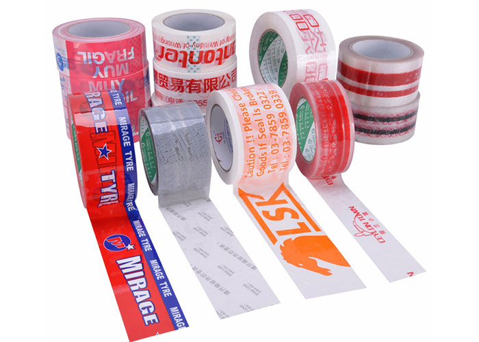 coloured packaging tapetape