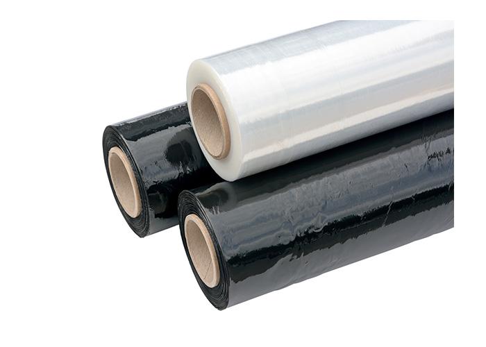 plastic pallet wrap coloured