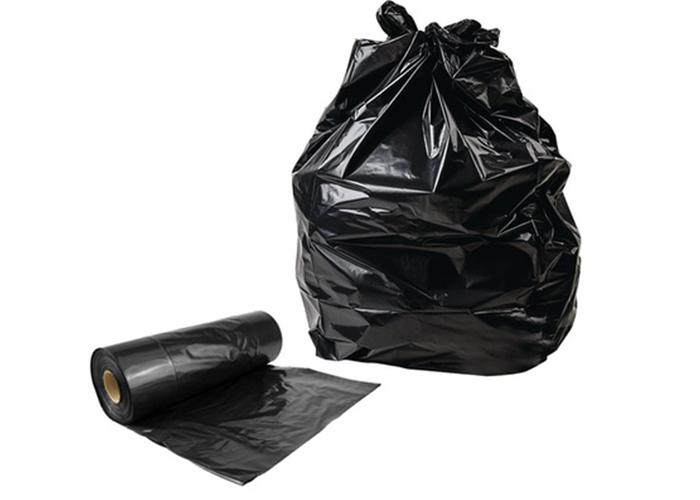 plastic refuse bags